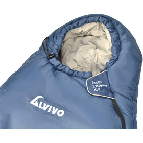 Alvivo Arctic Extreme Slaapzak Kinderen, blue/grey